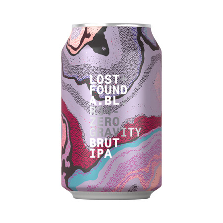 Lost+Found A.BL R34. Zero Gravity. Brut IPA – Buy Beer online on EeBriaTrade.com