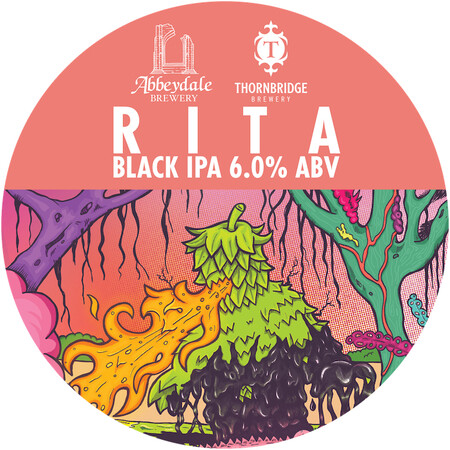 Abbeydale Brewery Rita - Black IPA – Buy Beer online on EeBriaTrade.com