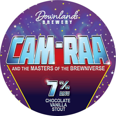 Downlands Brewery CAM-RAA and the masters of the Brewniverse – Buy Beer online on EeBriaTrade.com
