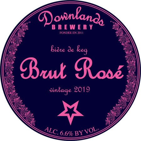 Downlands Brewery Brut Rose – Buy Beer online on EeBriaTrade.com