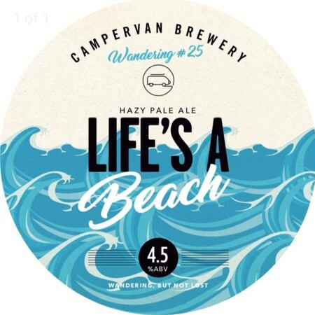 Campervan Brewery Life's a Beach – Buy Beer online on EeBriaTrade.com