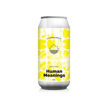 Cloudwater Brew Co Human Meanings (G. 658) (CANS) – Buy Beer online on EeBriaTrade.com