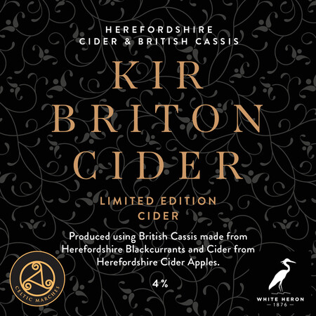 Celtic Marches Kir Briton Limited Edition Cider  – Buy Cider online on EeBriaTrade.com