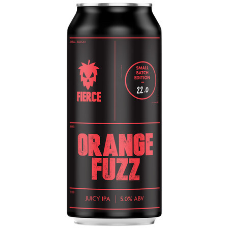Fierce Beer Orange Fuzz – Buy Beer online on EeBriaTrade.com