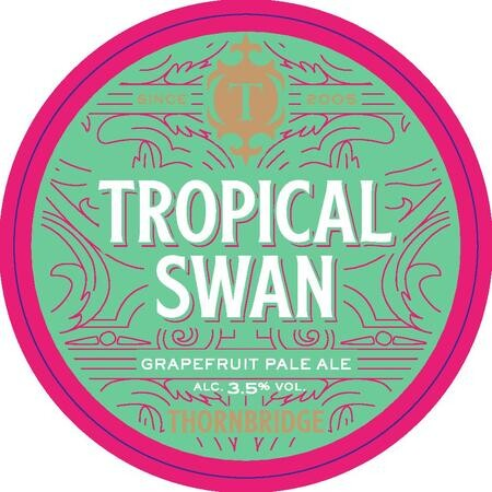 Thornbridge Brewery Tropical Swan  – Buy Beer online on EeBriaTrade.com