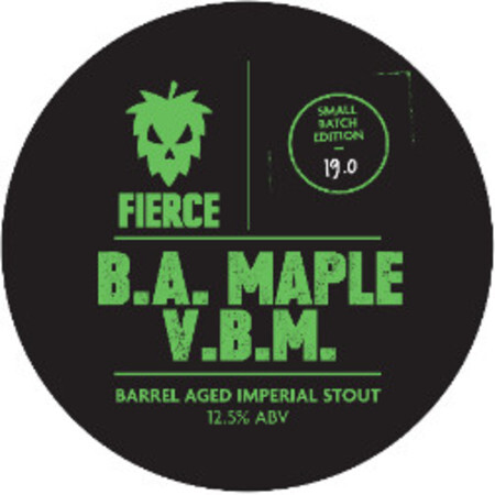 Fierce Beer B.A. Maple V.B.M. – Buy Beer online on EeBriaTrade.com
