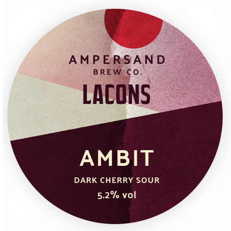 Ampersand Brew Co Ambit - Dark Cherry Sour – Buy Beer online on EeBriaTrade.com