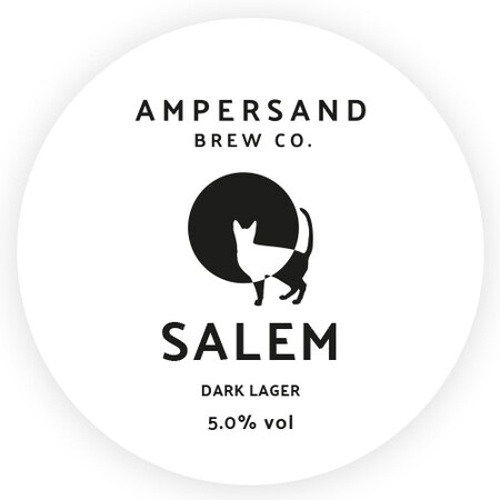 Ampersand Brew Co Salem - Dark Lager – Buy Beer online on EeBriaTrade.com