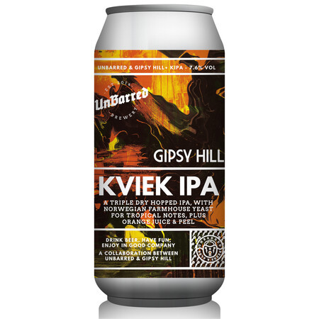 UnBarred Brewery Kviek IPA – Buy Beer online on EeBriaTrade.com