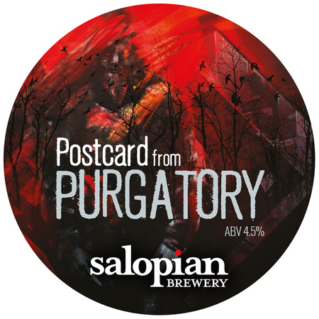 Salopian Brewery Postcard from Purgatory Session Black IPA – Buy Beer online on EeBriaTrade.com