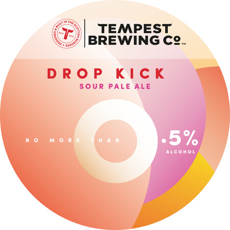 Tempest Brewing Co Drop Kick 0.5% Low Alcohol – Buy Beer online on EeBriaTrade.com