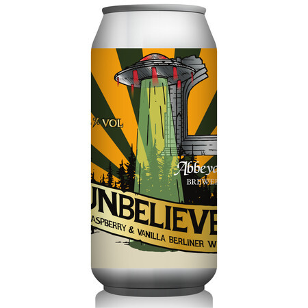 Abbeydale Brewery Unbeliever - Raspberry & Vanilla Berliner Weisse – Buy Beer online on EeBriaTrade.com