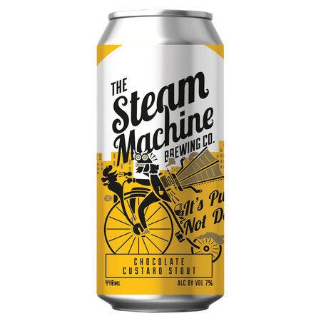 Steam Machine Brewing Co It's Pudding, Not Dessert - Chocolate Custard Stout – Buy Beer online on EeBriaTrade.com