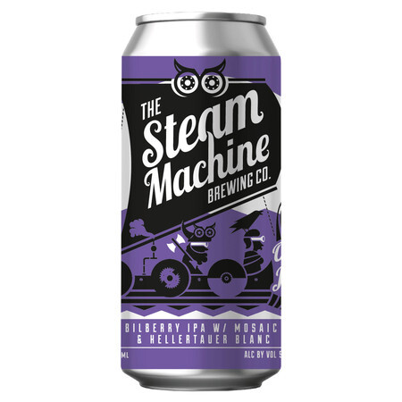Steam Machine Brewing Co Odin's Jam Jar - Bilberry Milkshake IPA – Buy Beer online on EeBriaTrade.com