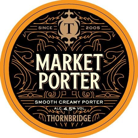 Thornbridge Brewery Market Porter – Buy Beer online on EeBriaTrade.com