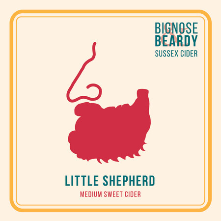 Bignose & Beardy Little Shepherd (2017) – Buy Cider online on EeBriaTrade.com