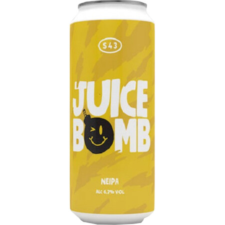 S43 Brewery Juice Bomb (NEIPA) – Buy Beer online on EeBriaTrade.com
