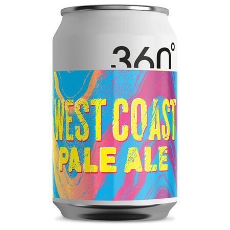360 Degree Brewing West Coast Pale Ale – Buy Beer online on EeBriaTrade.com