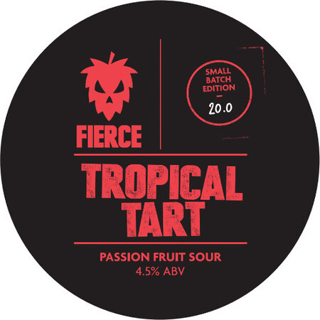 Fierce Beer Tropical Tart – Buy Beer online on EeBriaTrade.com