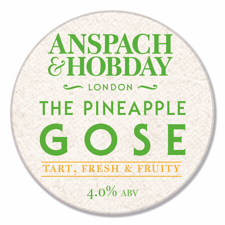 Anspach & Hobday The Pineapple Gose – Buy Beer online on EeBriaTrade.com