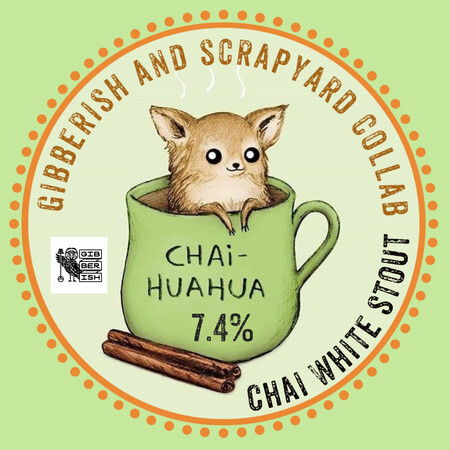 Gibberish Brewing Chai-Huahua White Stout – Buy Beer online on EeBriaTrade.com