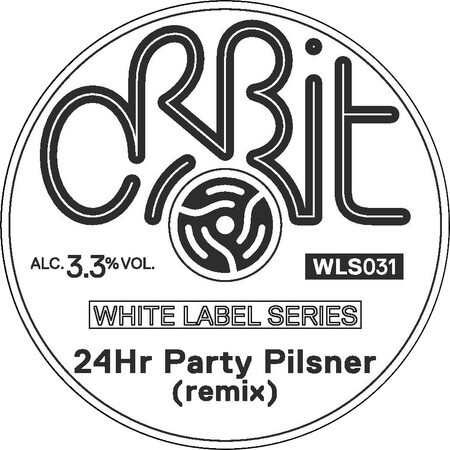 Orbit Beers London WLS031 24Hr Party Pilsner (remix) – Buy Beer online on EeBriaTrade.com