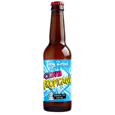 Tiny Rebel Brewing Clwb Tropicana – Buy Beer online on EeBriaTrade.com