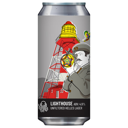 Time and Tide Brewing Lighthouse Lager (12) – Buy Beer online on EeBriaTrade.com
