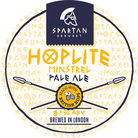 Spartan Brewery Hoplite: Minstrel – Buy Beer online on EeBriaTrade.com