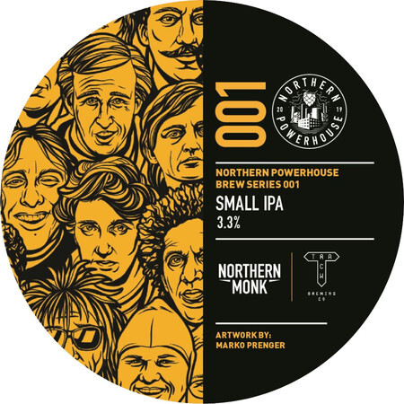 Northern Monk Brew Co. Northern Powerhouse Brew Series 001: Track Collaboration – Buy Beer online on EeBriaTrade.com