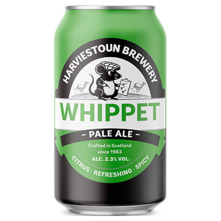 Harviestoun Whippet Pale Ale – Buy Beer online on EeBriaTrade.com