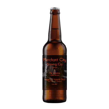 Merchant City Brewing Jaggery X: Imperial Stout With Jaggery, Coffee And Blueberry – Buy Beer online on EeBriaTrade.com