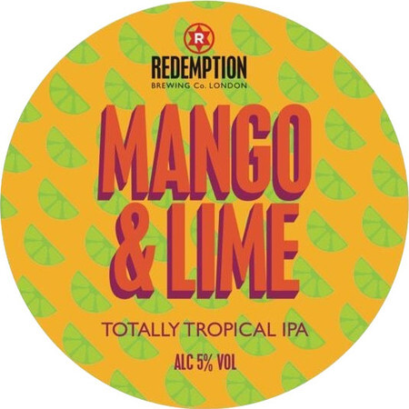 Redemption Brewing Co Mango & Lime IPA – Buy Beer online on EeBriaTrade.com