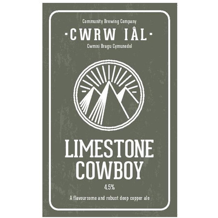 Cwrw Ial Limestone Cowboy – Buy Beer online on EeBriaTrade.com