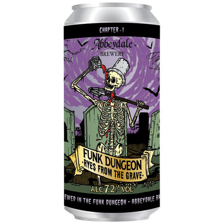 Abbeydale Brewery Funk Dungeon - Ryes From The Grave  – Buy Beer online on EeBriaTrade.com
