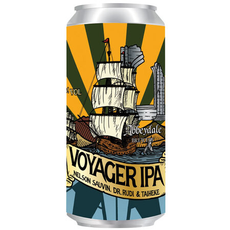 Abbeydale Brewery Voyager IPA - Nelson Sauvin, Dr Rudi & Taiheke – Buy Beer online on EeBriaTrade.com