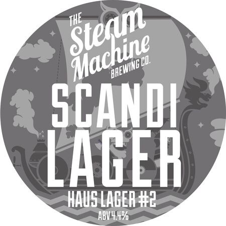 Steam Machine Brewing Co Scandi Lager – Buy Beer online on EeBriaTrade.com