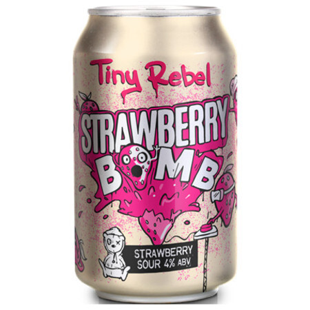 Tiny Rebel Brewing Strawberry Bomb – Buy Beer online on EeBriaTrade.com