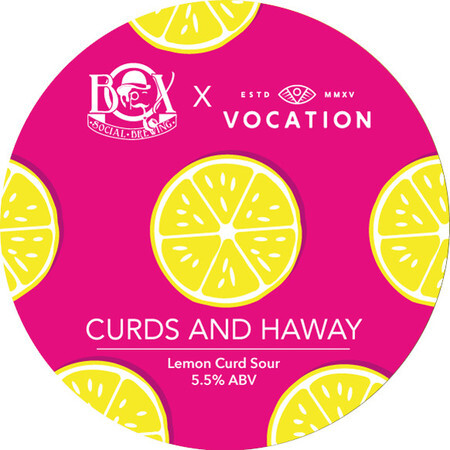 Box Social Brewing Vocation Collaboration - Curds And Haway  – Buy Beer online on EeBriaTrade.com
