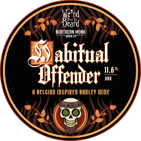 Weird Beard Brew Co Habitual Offender – Buy Beer online on EeBriaTrade.com