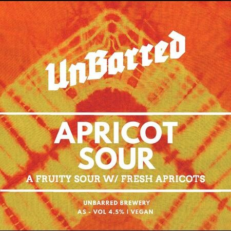 UnBarred Brewery Apricot Sour – Buy Beer online on EeBriaTrade.com