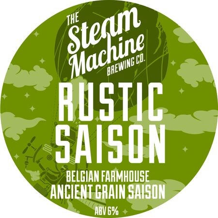 Steam Machine Brewing Co Rustic Saison – Buy Beer online on EeBriaTrade.com