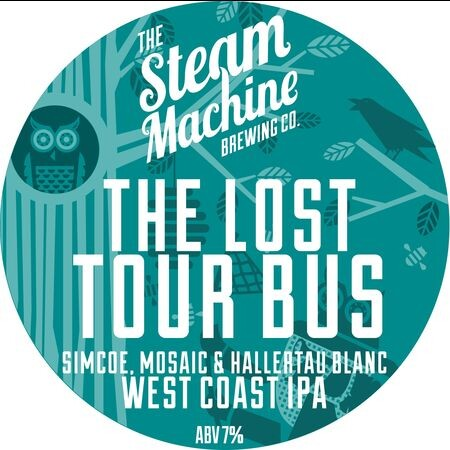 Steam Machine Brewing Co The Lost Tour Bus – Buy Beer online on EeBriaTrade.com
