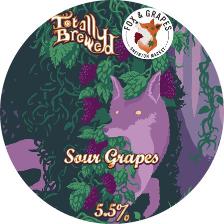Totally Brewed Sour Grapes  – Buy Beer online on EeBriaTrade.com