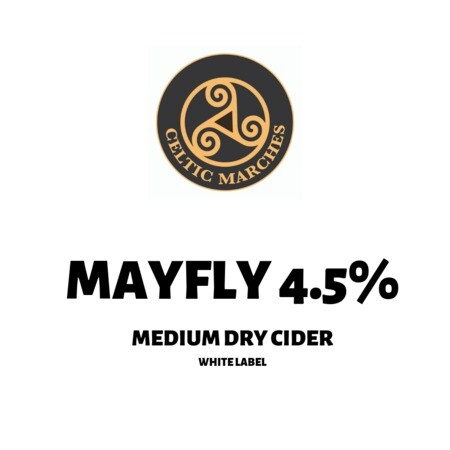 Celtic Marches Mayfly White Label Cider – Buy Cider online on EeBriaTrade.com