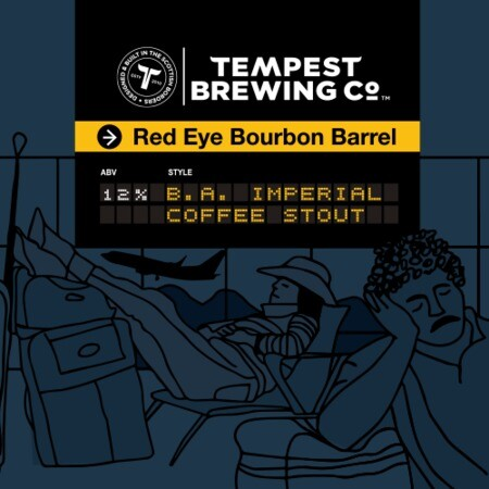 Tempest Brewing Co Red Eye Flight Bourbon Barrel – Buy Beer online on EeBriaTrade.com