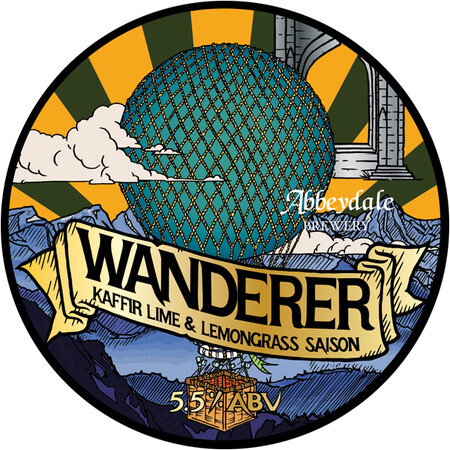 Abbeydale Brewery Wanderer - Kaffir Lime and Lemongrass Saison – Buy Beer online on EeBriaTrade.com