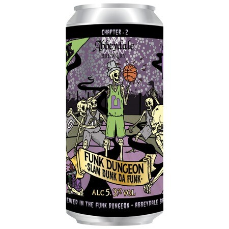 Abbeydale Brewery Funk Dungeon - Slam Dunk Da Funk – Buy Beer online on EeBriaTrade.com