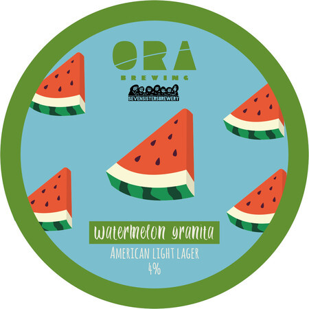 ORA Brewing Company Watermelon granita – Buy Beer online on EeBriaTrade.com