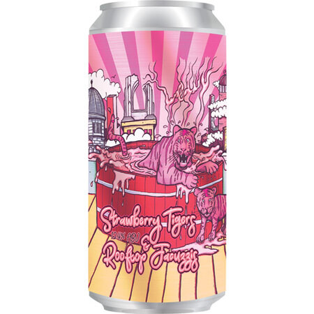 Abbeydale Brewery Strawberry Tigers & Rooftop Jacuzzis – Buy Beer online on EeBriaTrade.com